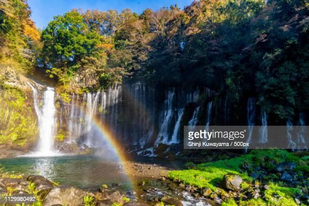 Double Rainbow Of Shiraito Falls