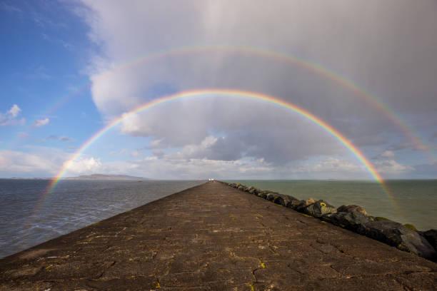 Double Rainbow over Great South Wall, Dublin