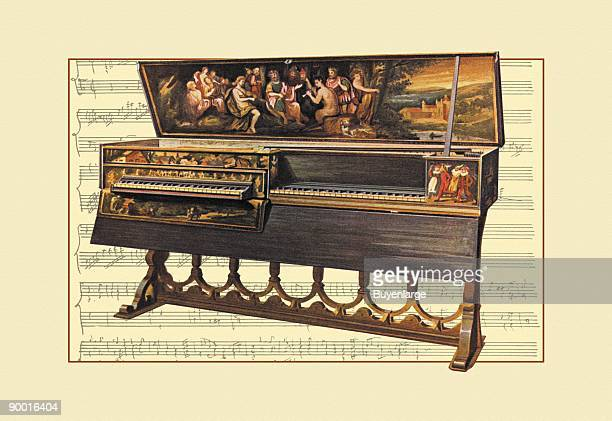 Double Spinet or Virginal