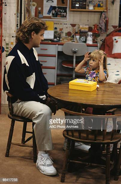 HOUSE Double Trouble Season Five 9/17/91 Joey talked to Michelle about what to expect in kindergarten