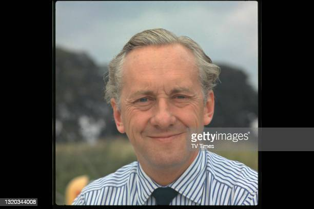 Double Your Money and Opportunity Knocks presenter Hughie Green, circa 1967.