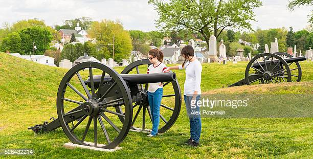 doubleday hill - civil war's national monument, williamsport, maryland, usa - social history stock pictures, royalty-free photos & images