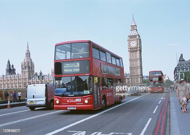 double-decker bus and Big Ben