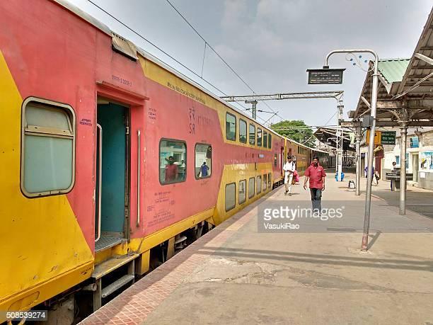 Doppeldecker Zug, Bangalore, Indien