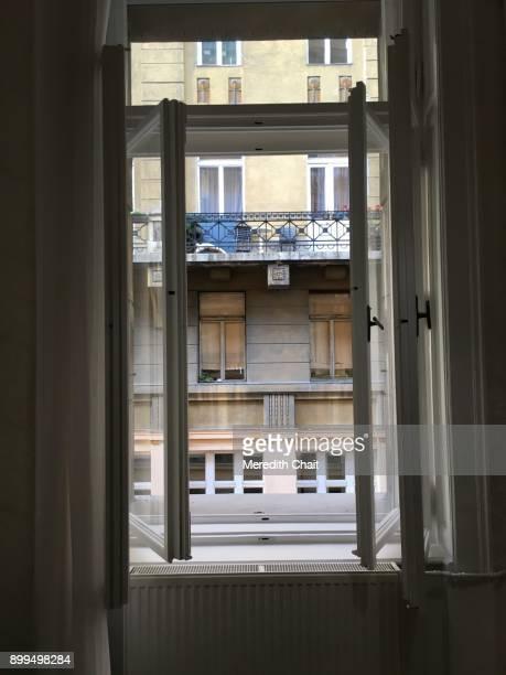 double-pane window - fensterladen stock-fotos und bilder