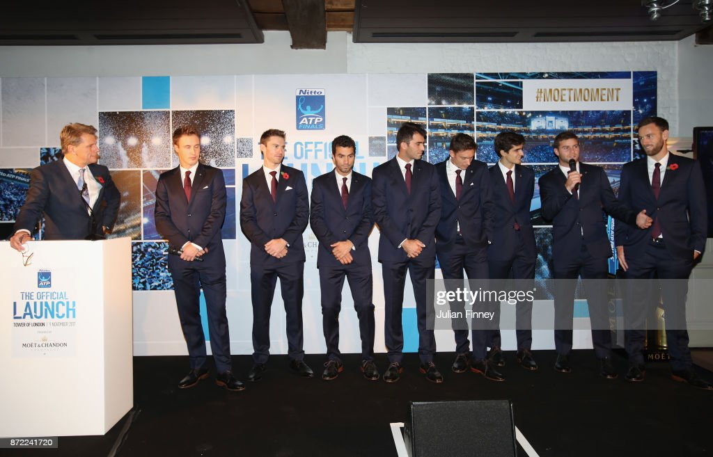 The Official Launch ATP Finals : News Photo