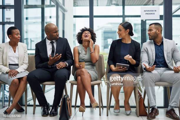 i doubt she's getting the job - arrogance stock pictures, royalty-free photos & images