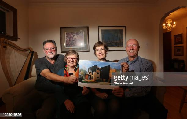Doug and Mardi Tindal with their partners Hillary and Ted, plan to convert their home into a six unit space with common areas and share with other...