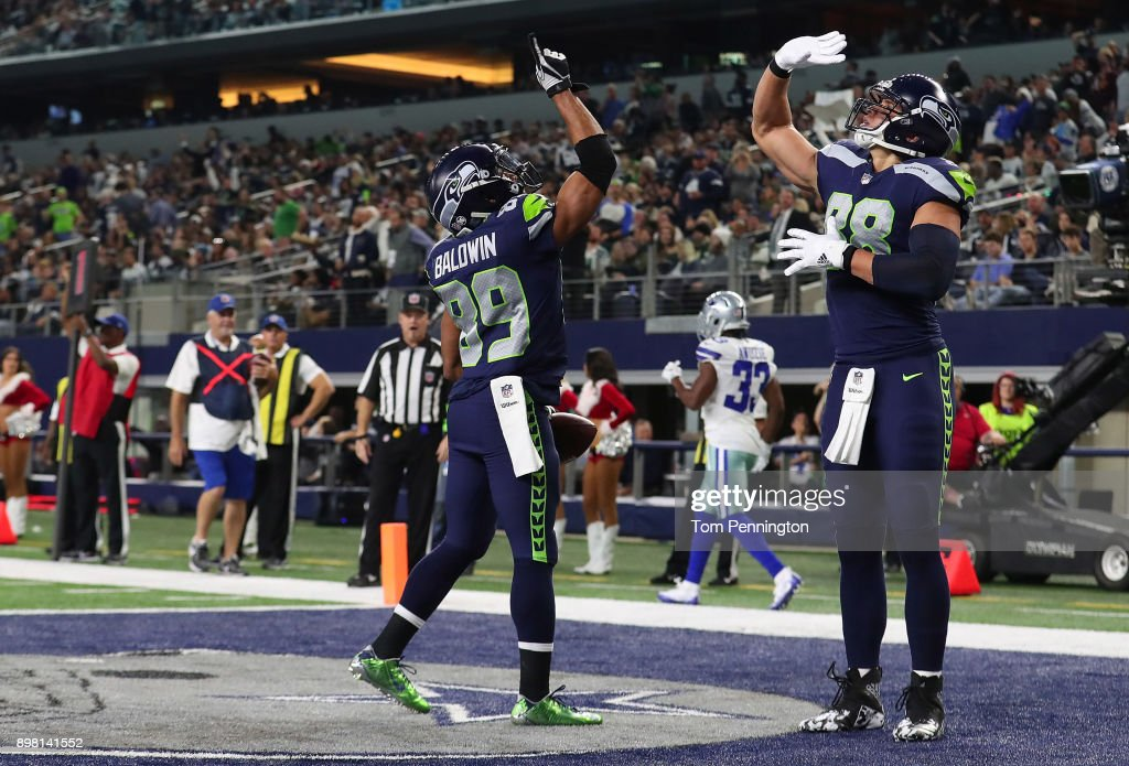 Seattle Seahawks v Dallas Cowboys : Foto jornalística