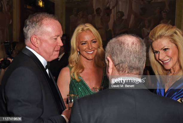 Doug Barrowman Michelle Mone Baroness Mone and guests attend the 7th annual 'Dining With The Stars' charity dinner in aid of Cancer Research UK's...