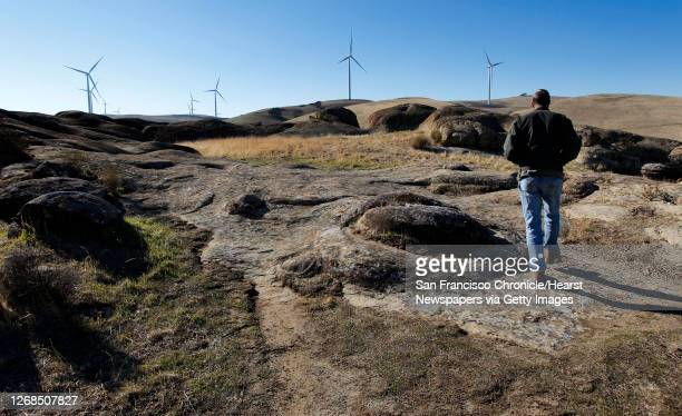 Doug Bell, wildlife manager for the East Bay Regional Parks District, walks along the Vasco Caves Regional Park, on Monday Dec. 9 near the newest...
