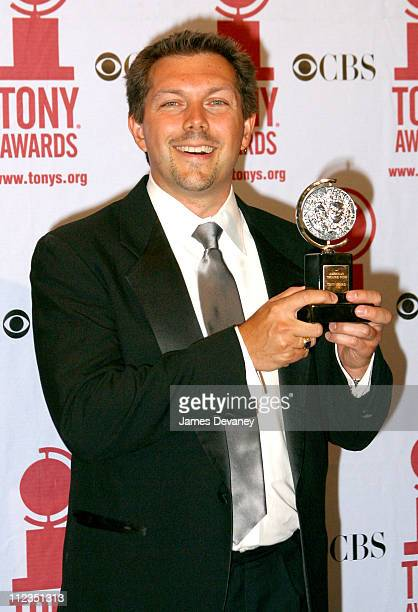 Doug Besterman during 56th Annual Tony Awards Press Room at American Theater at Radio City Music Hall in New York City New York United States