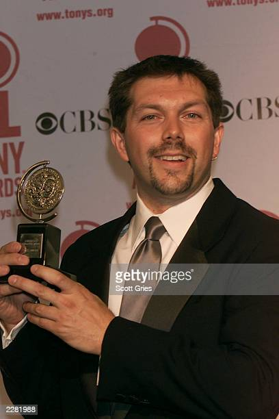 Doug Besterman in the pressroom for the American Theatre Wing's 55th Annual Antoinette Perry Tony Awards at Radio City Music Hall in New York City NY...