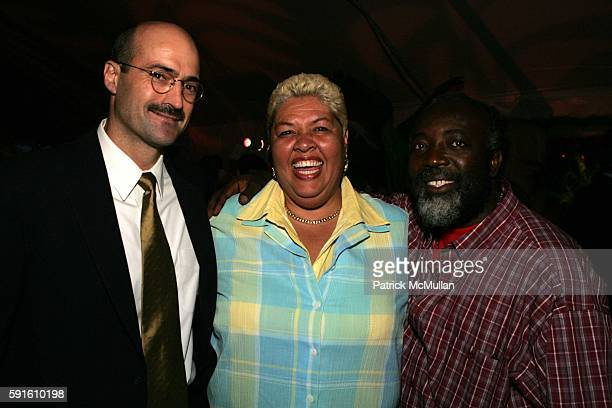 Doug Blonsky Aloun N'dombet Assamba and Freddie McGregor attend A Magical Evening with New York's Finest Chefs at Taste of Summer A Benefit for the...