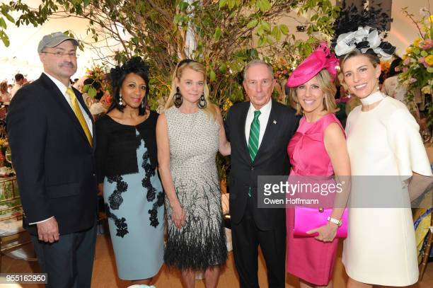 Doug Blonsky Amelia Ogunlesi Debbie Bancroft Michael Bloomberg Alisyn Camerota and Nyssa Kourakas attend 36th Annual Frederick Law Olmsted Awards...