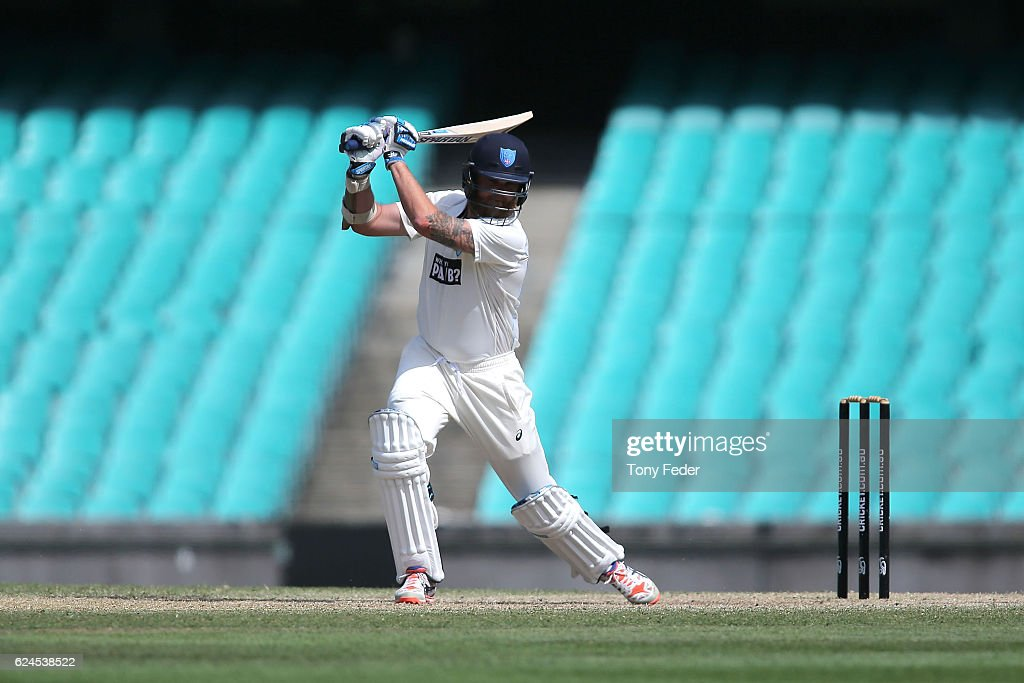 Sheffield Shield - NSW v VIC: Day 4 : News Photo