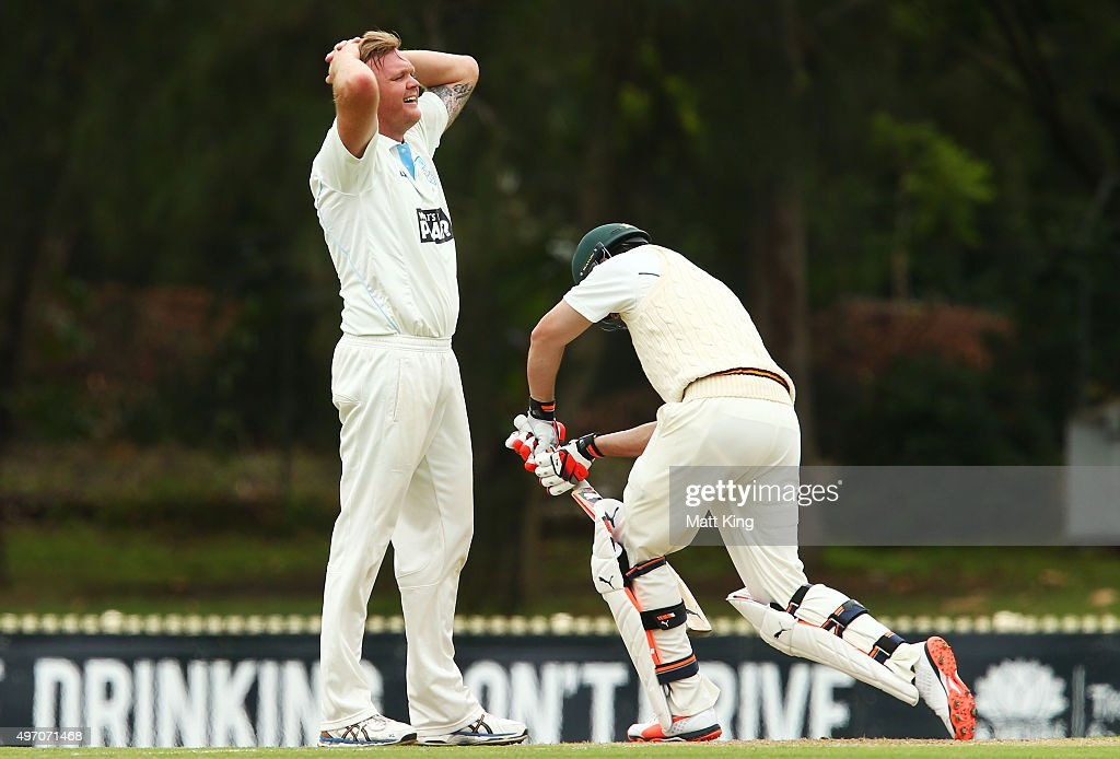 NSW v TAS - Sheffield Shield : Day 1