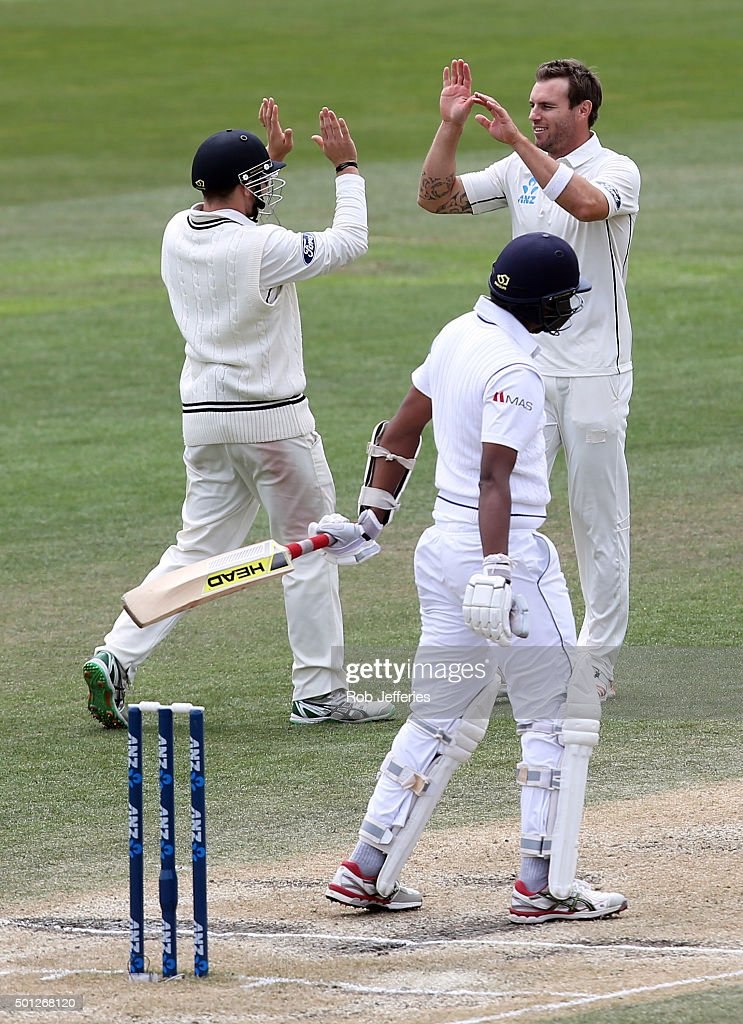 New Zealand v Sri Lanka - 1st Test: Day 5