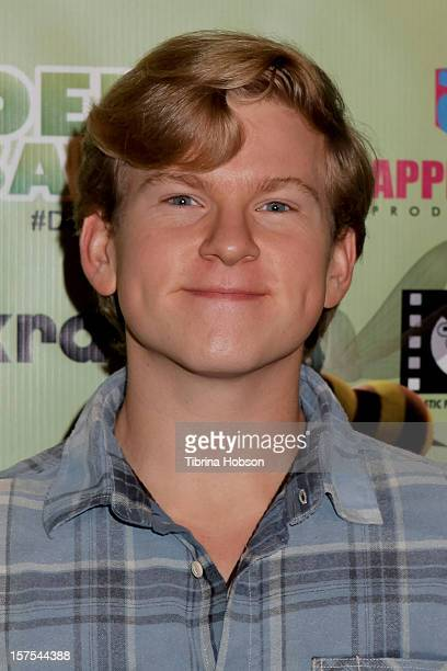 Doug Brochu attends the Delhi Safari Los Angeles premiere at Pacific Theatre at The Grove on December 3 2012 in Los Angeles California