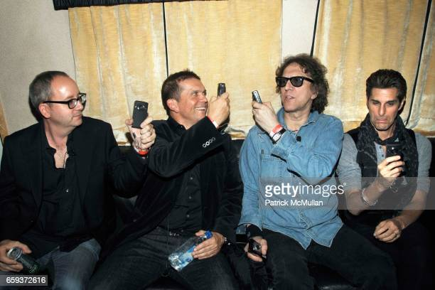 Doug Brod Mark DiDia Mick Rock and Perry Farrell attend JOHN VARVATOS STAR USA host Free The Noise party at John Varvatos 315 Bowery on September 15...