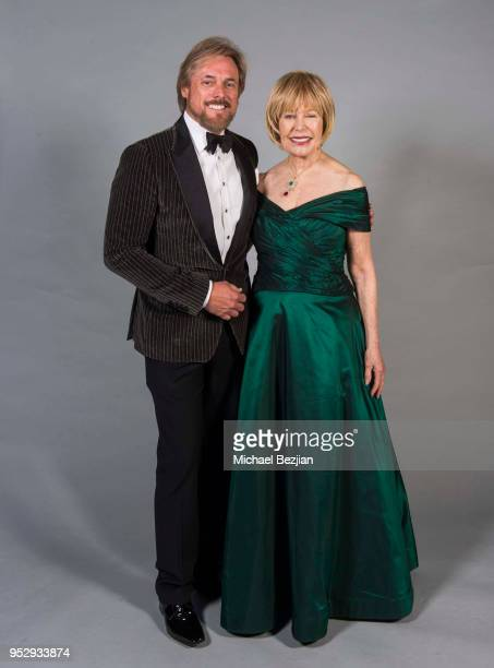 Doug Brown and Loretta Swit pose for portrait at 45th Daytime Emmy Awards Portraits by The Artists Project Sponsored by the Visual Snow Initiative on...