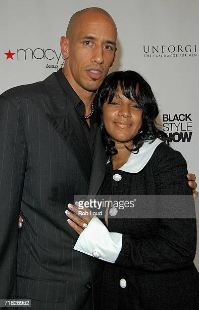 Doug Christie and Jackie Christie attend Essence Presents Black Style Now Opening Night Gala during Olympus Fashion Week at The Museum of the City of...