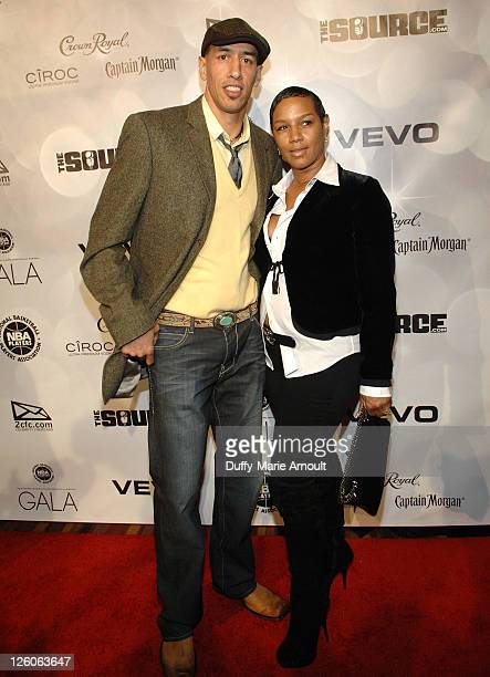 Doug Christie and Jackie Christie attend the 2011 NBPA AllStar Gala at JW Marriott at LA Live on February 19 2011 in Los Angeles California