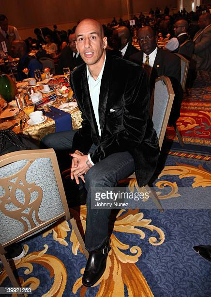Doug Christie attends the All Star Gospel Brunch at Disney Yacht and Beach Club on February 25 2012 in Orlando Florida