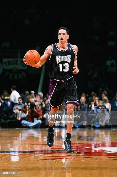 Doug Christie of the Sacramento Kings during the game against the Houston Rockets on January 13 2001 at Compaq Center in Houston Texas