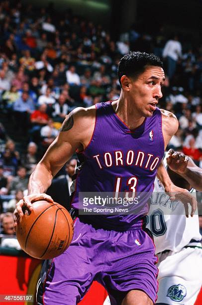 Doug Christie of the Toronto Raptors during the game against the Dallas Mavericks on December 30 1999 at Reunion Arena in Dallas Texas