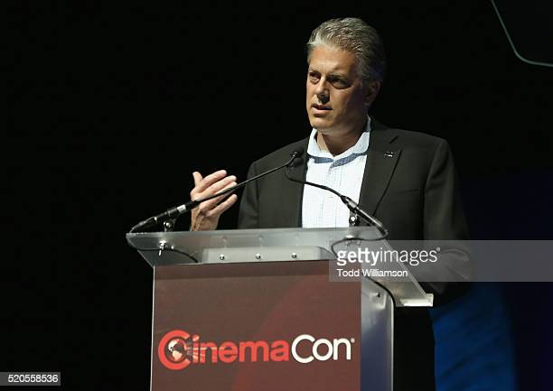 Doug Darrow, SVP, Cinema Business Group attends the CinemaCon 2016 Gala Opening Night Event: Paramount Pictures Highlights its 2016 Summer and Beyond...