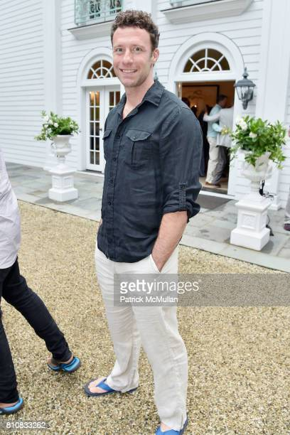 Doug di Stefano attends Katrina and Don Peebles Host NY Mission Society Summer Cocktails at Private Residence on July 7 2017 in Bridgehampton New York