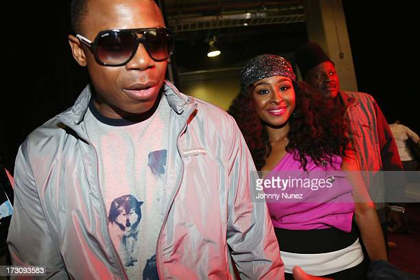 Doug E Fresh and Janell Snowden attend the 2013 Essence Festival at the MercedesBenz Superdome on July 6 2013 in New Orleans Louisiana