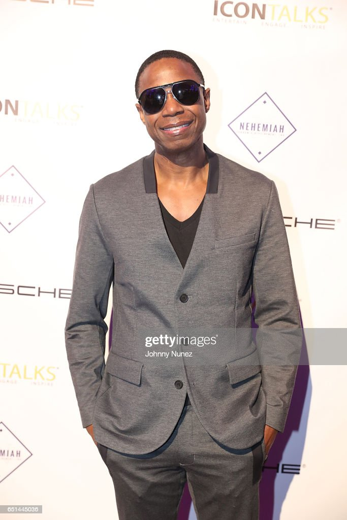 Doug E Fresh attends Icon Talks Salutes Fabolous at Brooklyn Borough Hall on March 9, 2017 in New York City.