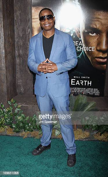 Doug E Fresh attends the 'After Earth' premiere at the Ziegfeld Theater on May 29 2013 in New York City