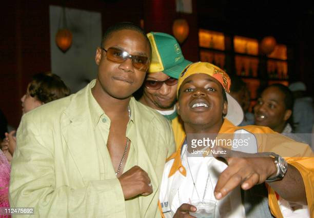 Doug E Fresh Bruk Up and Little Vicious during Hyypnotiq Party With DJ Clue and Fabolous at Deep in New York City New York United States