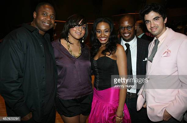 Doug E Fresh Marsha Ambrosius Janell Snowden Andre Harrell and DJ Cassidy attends VH1 Hip Hop Honors Weekend 2007/ Black Girls Rock Awards on October...