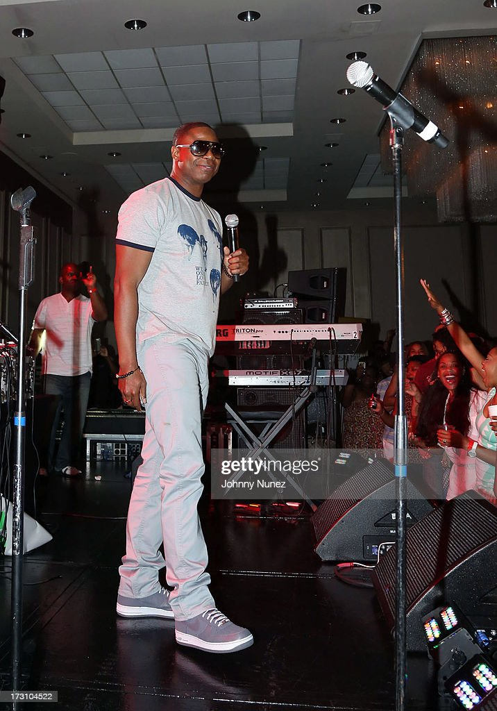 Doug E. Fresh performs at the Essence Day party at the W New Orleans on July 6, 2013 in New Orleans, Louisiana.