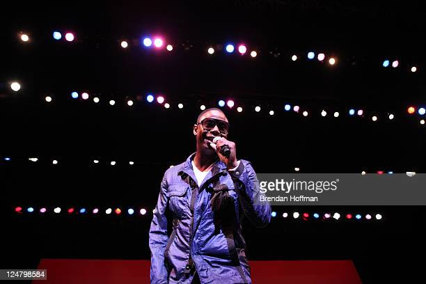 Doug E Fresh performs at the Thelonious Monk Institute of Jazz 25th Anniversary Gala on September 12 2011 in Washington DC