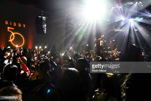 Doug E Fresh speaks onstage during Sean Combs 50th Birthday Bash presented by Ciroc Vodka on December 14 2019 in Los Angeles California