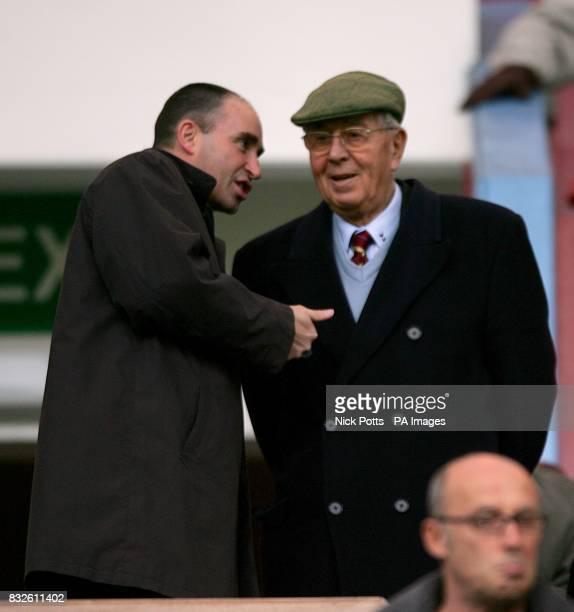 Doug Ellis Former Aston Villa chairman