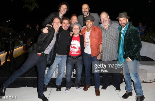 Doug Emery Jon Secada and Dan Warner performs during the Membership Celebration at the Recording Acdemy on December 14 2017 in Miami Beach Florida
