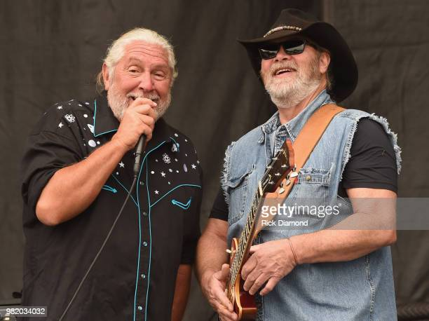 Doug Gray of The Marshall Tucker Band performs during Kicker Country Stampede Day 2 at Tuttle Creek State Park on June 22 2018 in Manhattan Kansas