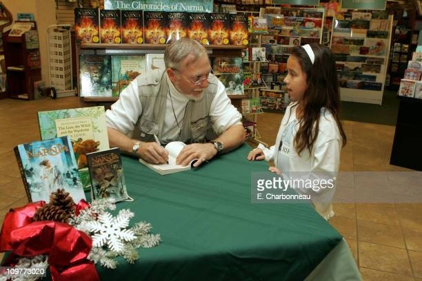 Doug Gresham stepson of author CS Lewis during Holiday Mall Transformation Based Upon Walt Disney Pictures and Walden Media's The Chronicles of...