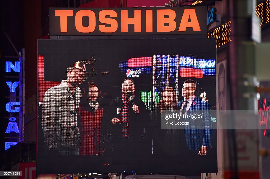 "The FYI Network Presents, ""Kiss Bang Love"" During New Years Eve At Times Square"