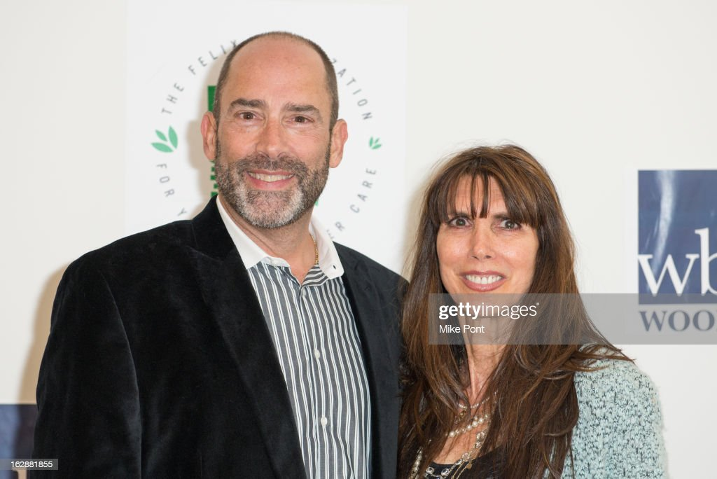 Doug Herman and Myra Scheer attend the Dance This Way launch party at WB Wood on February 28, 2013 in New York City.