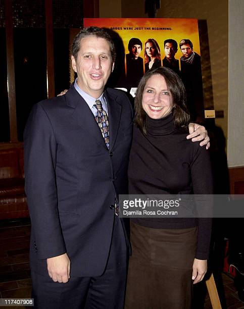 Doug Herzog and Michele Ganeless during USA Network's Special Advance Screening and After Party of Part One of Traffic The Miniseries at Tribeca...