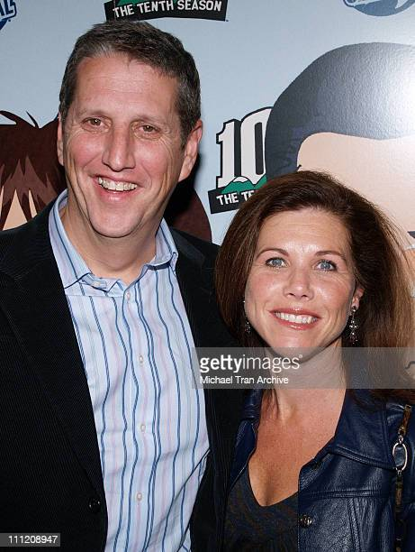 Doug Herzog President of Comedy Central and wife Noreen Herzog