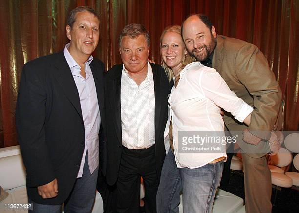 Doug Herzog President of Comedy Central William Shatner Elizabeth Porter Senior Vice President of Talent and Specials and Jason Alexander