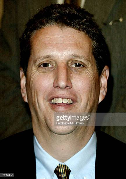 Doug Herzog president of USA Network attends the Hollywood Radio and Television Society's cable chiefs newsmakers luncheon February12 2002 in Beverly...